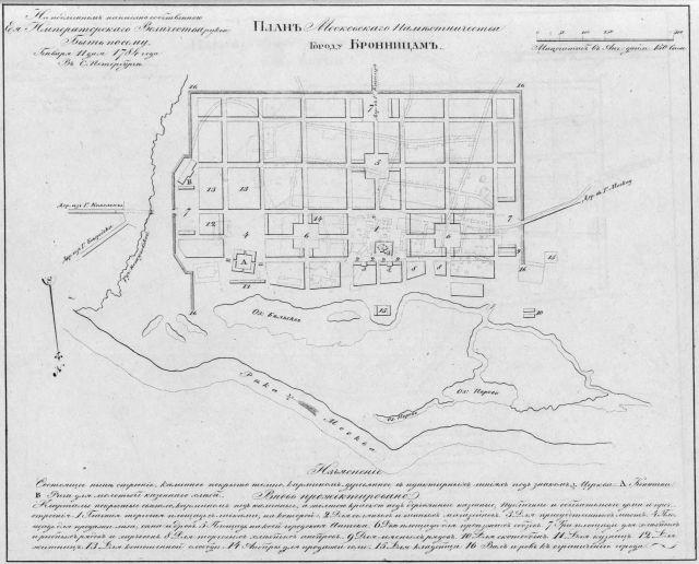 Старинные карты городов россии