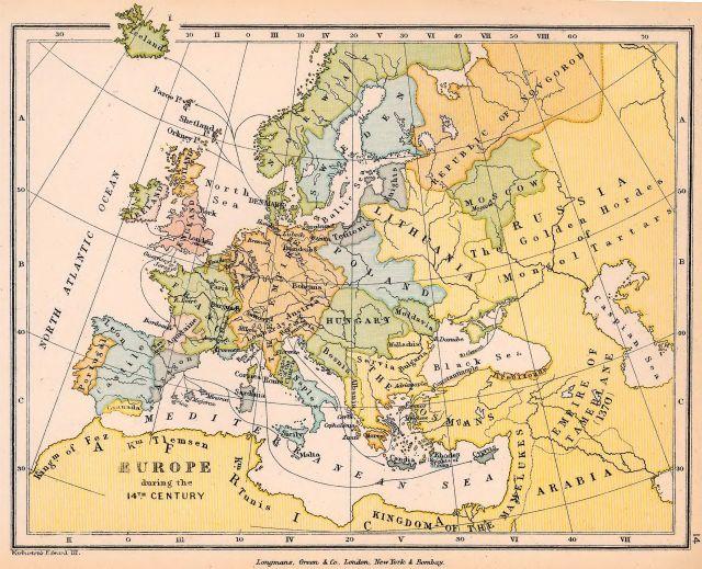 Раздел старинные карты европы